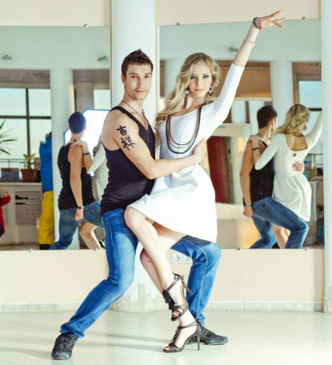 танцы, хастл