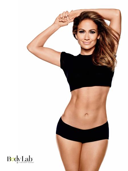 Дженнифер Лопес: спортивное тело