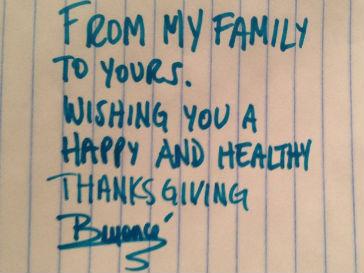 Бейонсе и Джей-Зи поздравили поклонников с Днем благодарения