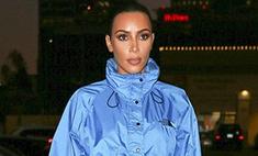 Вторая кожа: Ким Кардашьян вышла в свет в чувственном наряде