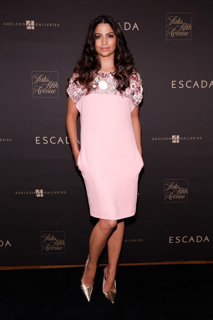 Камила Алвес в Escada