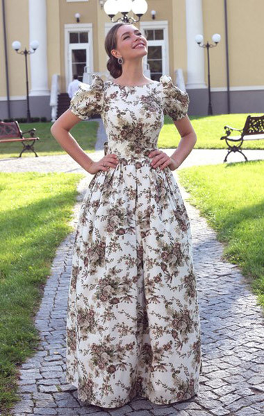 платья от российских дизайнеров