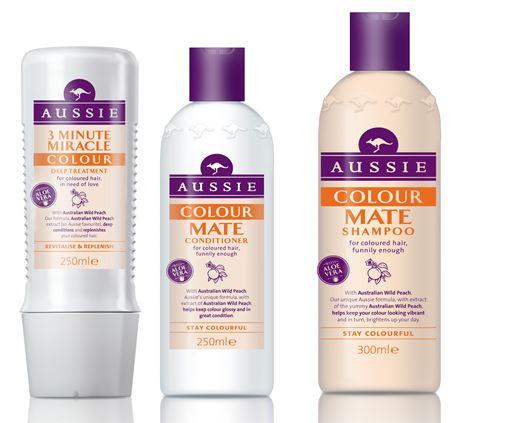 цвет лета: sos-средства aussie для окрашенных волос