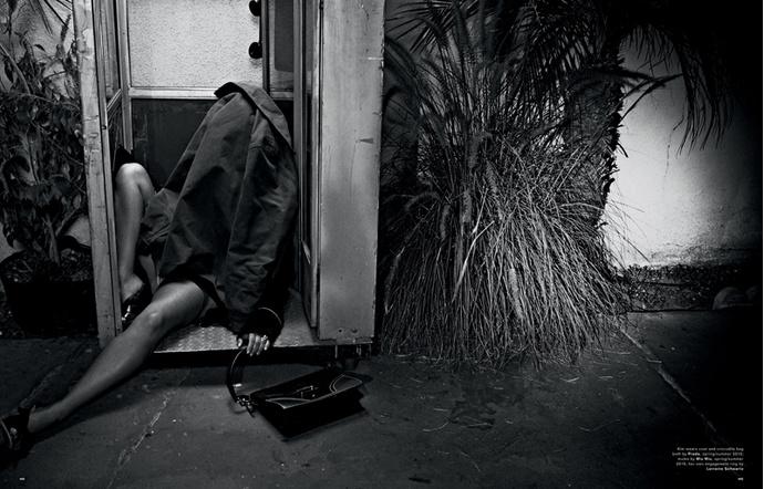 Ким Кардашьян в съемке журнала Love