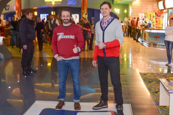 Илья Авербух и Максим Маринин в Ульяновске встретились с поклонниками
