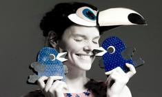 Звезды как птицы: Боярская и Пересильд в пернатой фотосессии