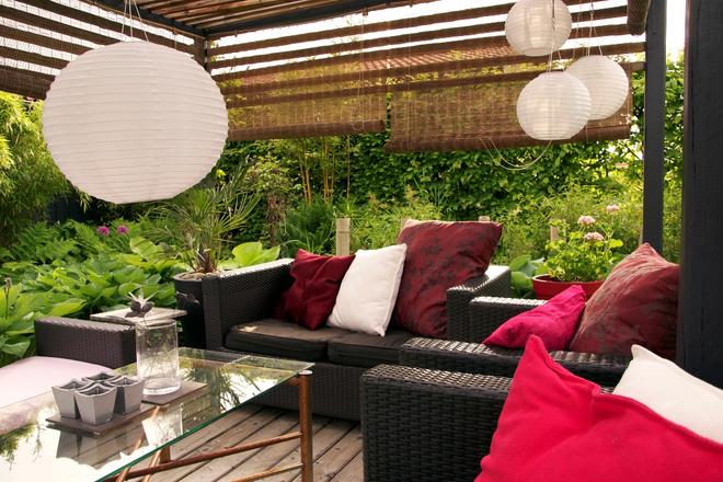 садовая мебель из искусственного ротанга