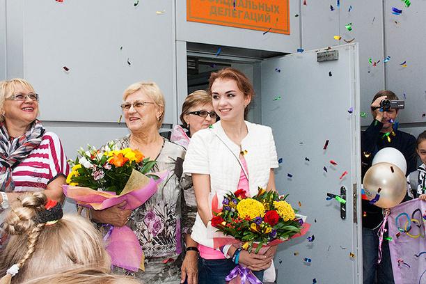 Омск, спорт, самые красивые спортсменки, Ксения Дудкина