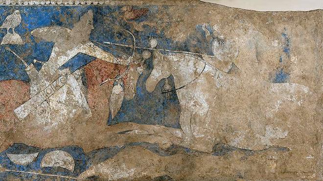 Ксения Раппопорт в детстве реставрировала фрески в Эрмитаже