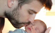 Шакира и Жерар Пике показали фото сына Милана