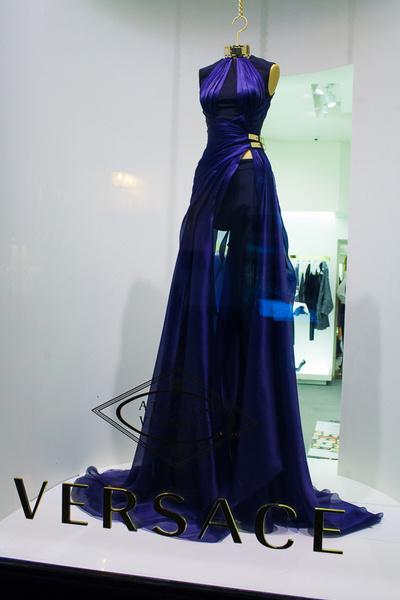 Звездные гости открытия нового бутика Versace в Москве