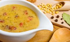 Рецепт приготовления горохового супа с копчеными ребрышками