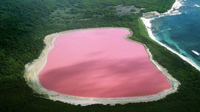Озеро Хиллер, Австралия
