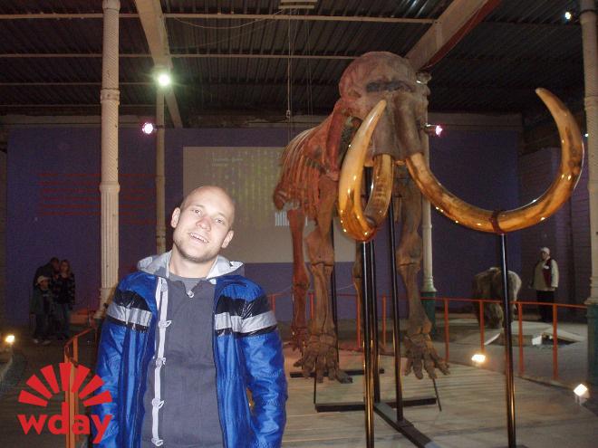 Вован и реальный пермский мамонт
