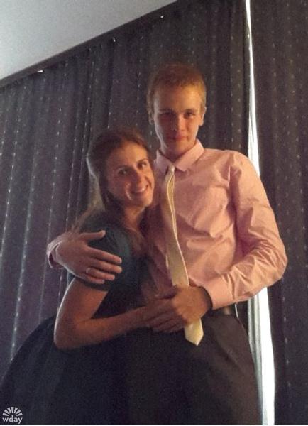 Анастасия Абросимова и ее муж Андрей Моисеенко