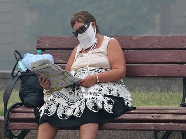 Центры для населения от смога