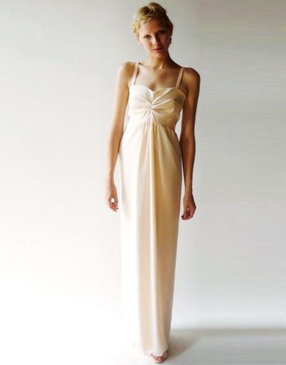 Свадебное платье Dahl, коллекция весна-лето 2012