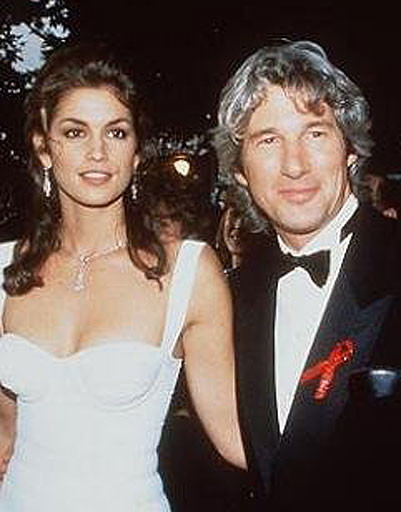 Ричард Гир (Richard Gere) и Синди Кроуфорд (Cindy Crawford)
