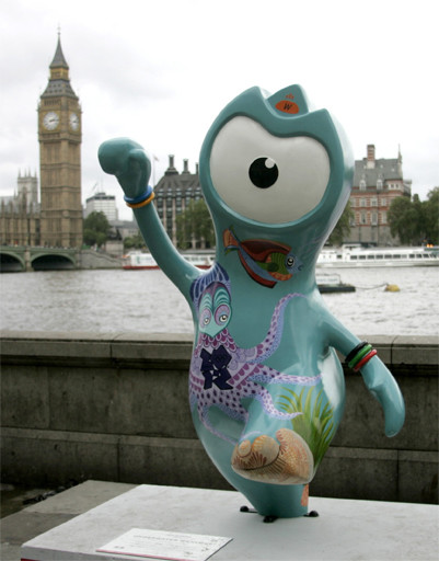 Мандевиль – талисман Олимпийских игр в Лондоне