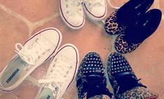 Анна Седокова показала любимую обувь