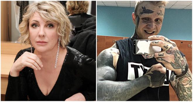 Татуированный сын артистки Елены Яковлевой стал воспитателем