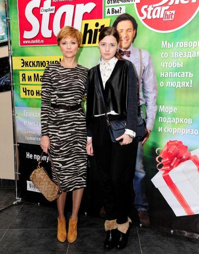 Дарья Повереннова с дочерью