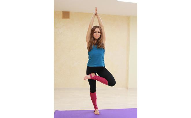 Юлия Малинина, тренер по йоге, фото