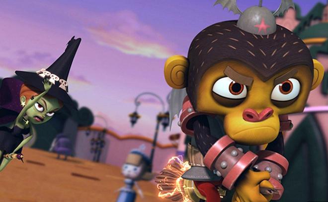 Оз: нашествие летающих обезьян, кадр из мультфильма