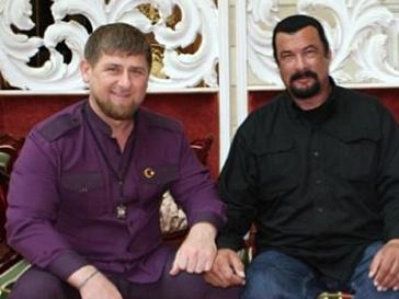 Стивен Сигал и Рамазан Кадыров