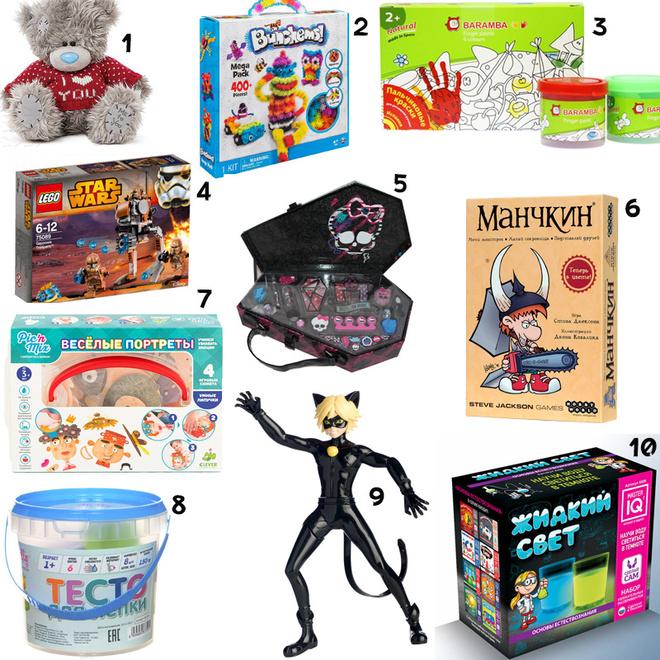 Что подарить на Новый год, подарки детям