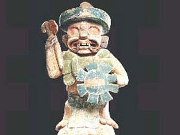 Проданная статуя майя признана ненастоящей