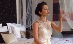 Сати Казанова репетирует свадьбу