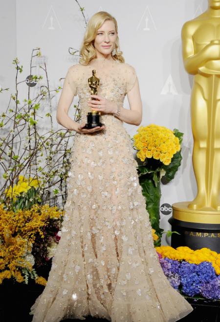 """Названы победители премии """"Оскар"""", лучшая актриса, Кейт Бланшетт"""