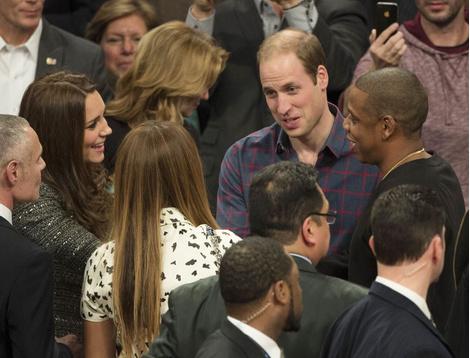 Королевская встреча: Кейт Миддлтон и принц Уильям посетили баскетбольный матч