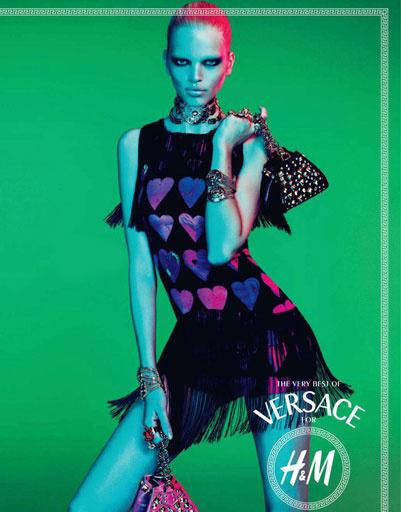 Рекламная кампания Versace for H&M