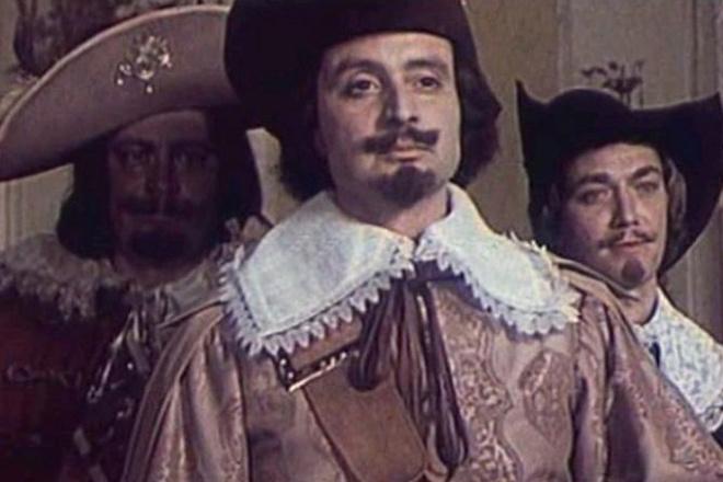 Д'артаньян и три мушкетера фото