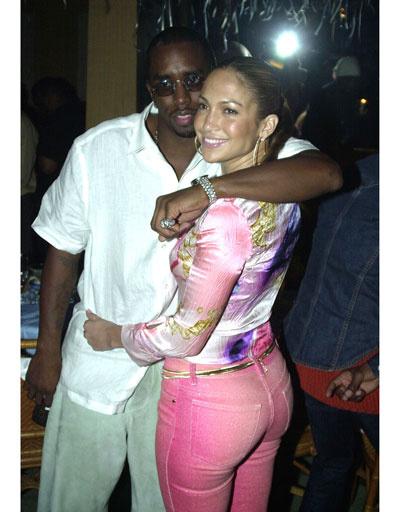 Дженнифер Лопес (Jennifer Lopez) и Пи Дидди (Puff Daddy)