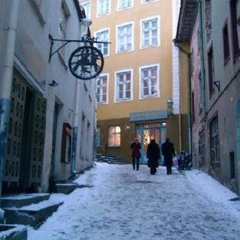 Мостовые зимнего Таллина живописны, но не безопасны. Фото: Virtualtourist.com