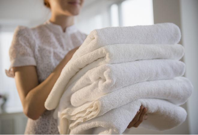 как отбелить полотенца в домашних условиях