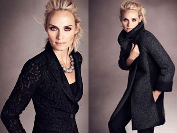 Амбер Валетта (Amber Valletta) в рекламной кампании Marcs & Spencer, осень-зима 2012/13