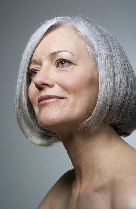 Прически тем кому за 60 и седые волосы