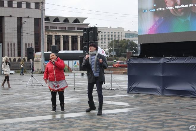 Съемки клипа Самый лучший день в Казани октябрь 2015