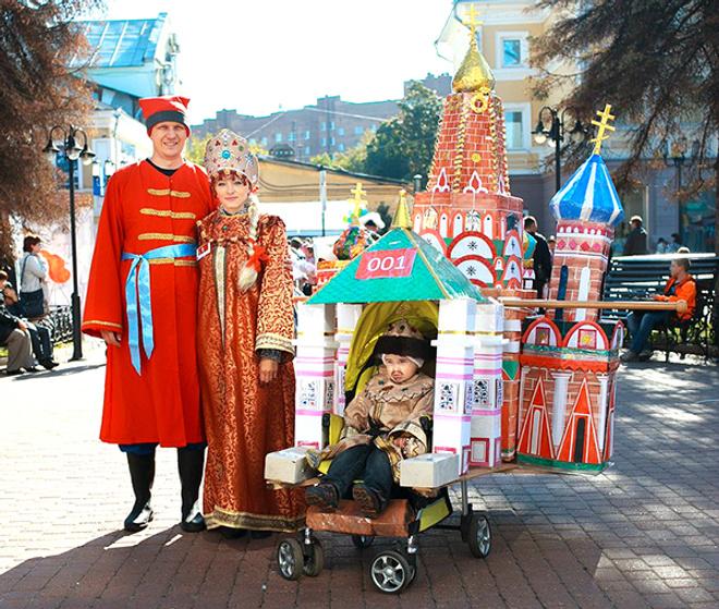 Парад колясок в Нижнем Новгороде