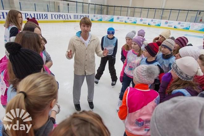 Алексей Ягудин: мастер-класс в Перми