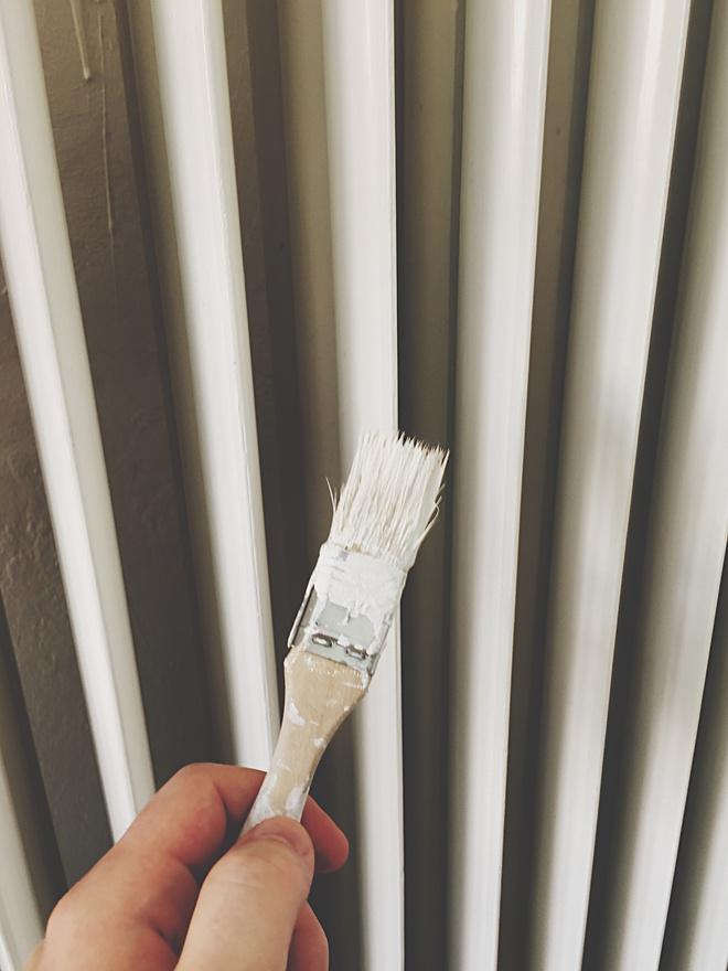 как покрасить батареи
