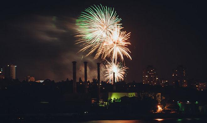 День города в Ростове: праздничная программа фейерверк