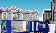 В Европе появился первый мобильный отель
