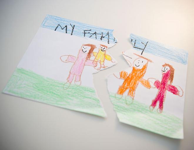 детская психология, помощь ребенку при разводе