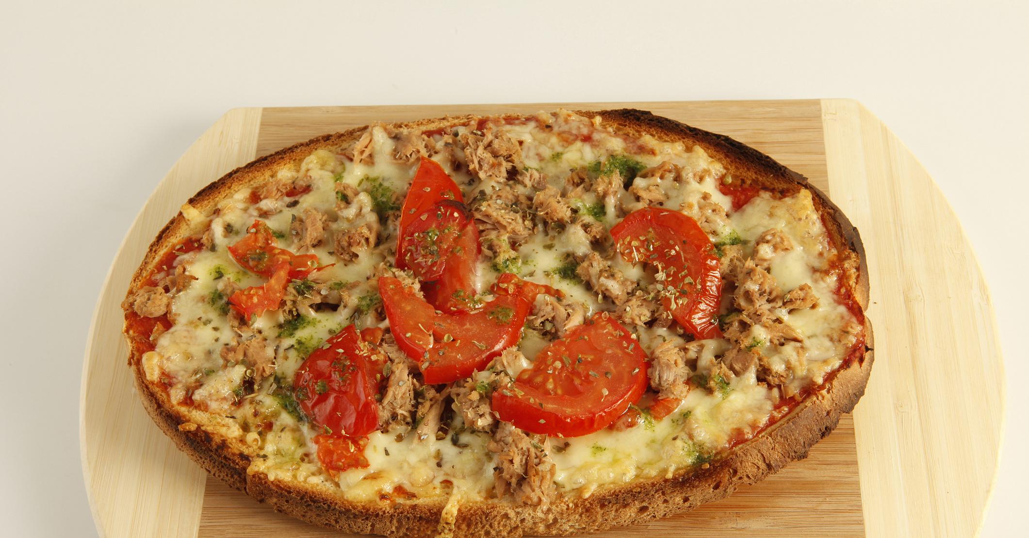 Пицца на хлебе рецепт