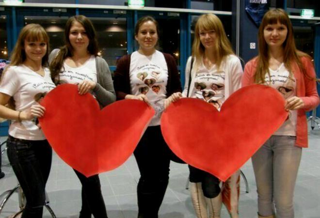 Estas en nuestros corazones, Наша Наташа Tour 2014 в Петербурге